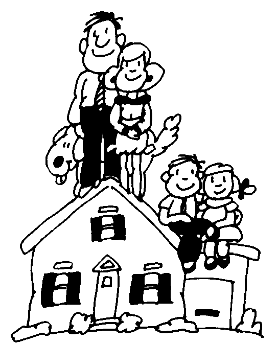 Happy family clip art free clipart images 5