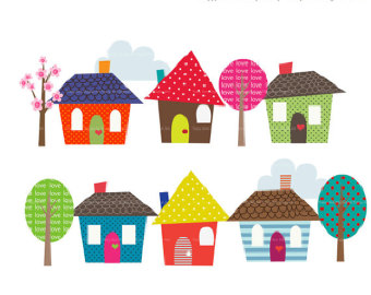 Happy home clipart free images