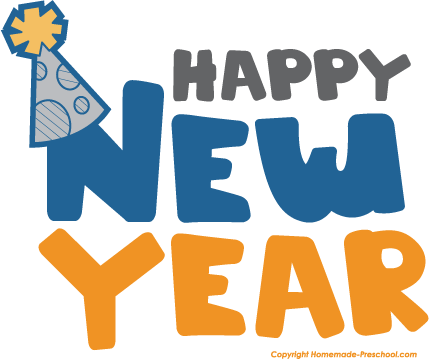 Happy new year animated emoticons for facebook whatsapp clip art 2
