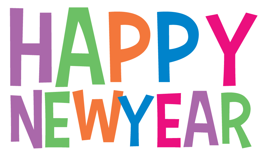 Happy new year clip art 3