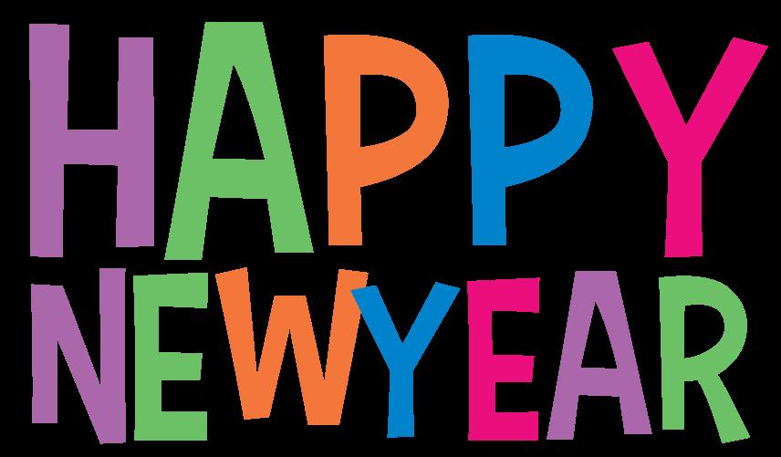 Happy new year clip art 3