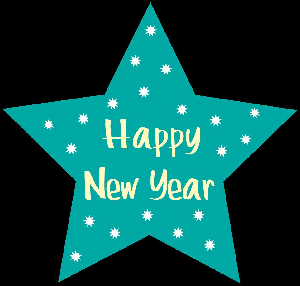 Happy new year clip art 4