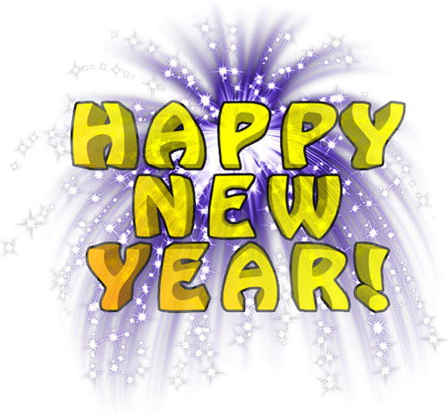 Happy new year free new year s animations clipart