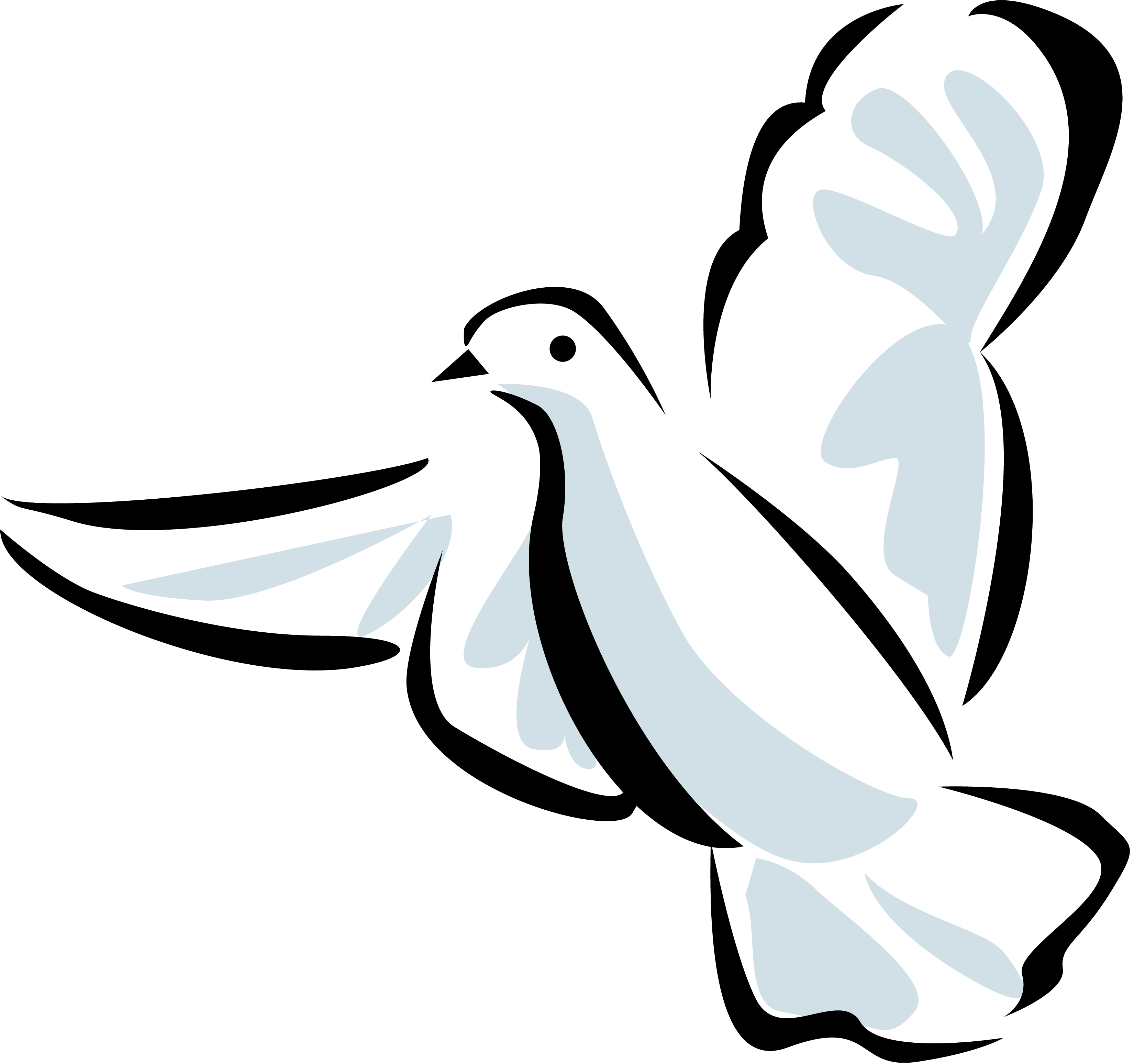 Holy spirit dove clipart free images 2