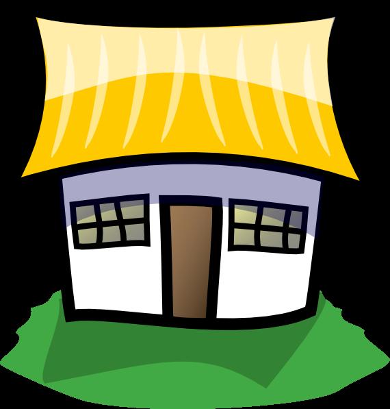 Home cartoon clipart