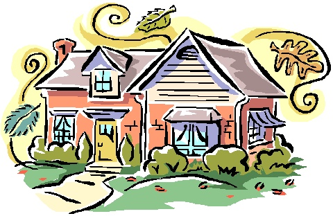 Home house for sale clip art free clipart images 3