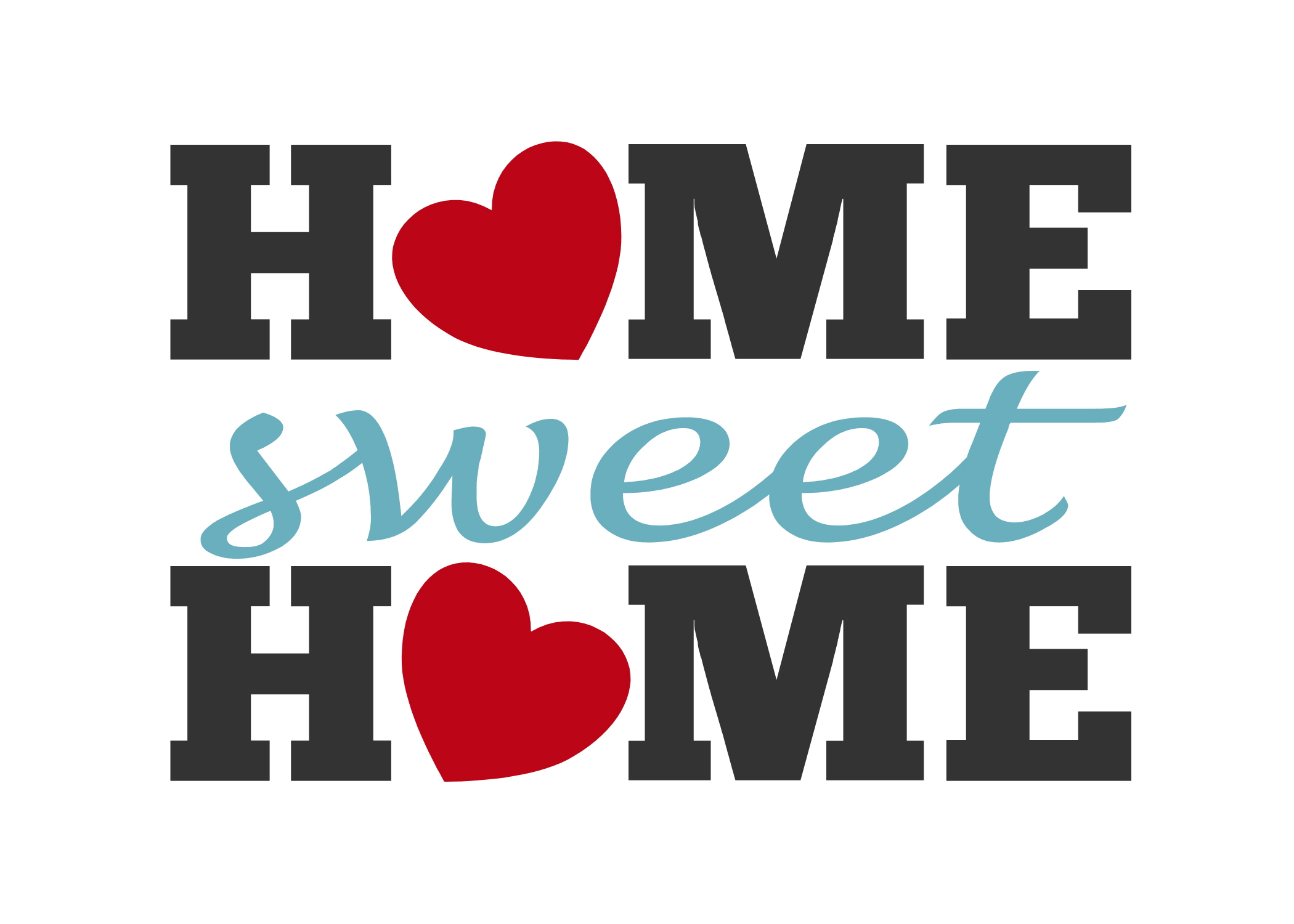 Home sweet home clipart free clipartfest
