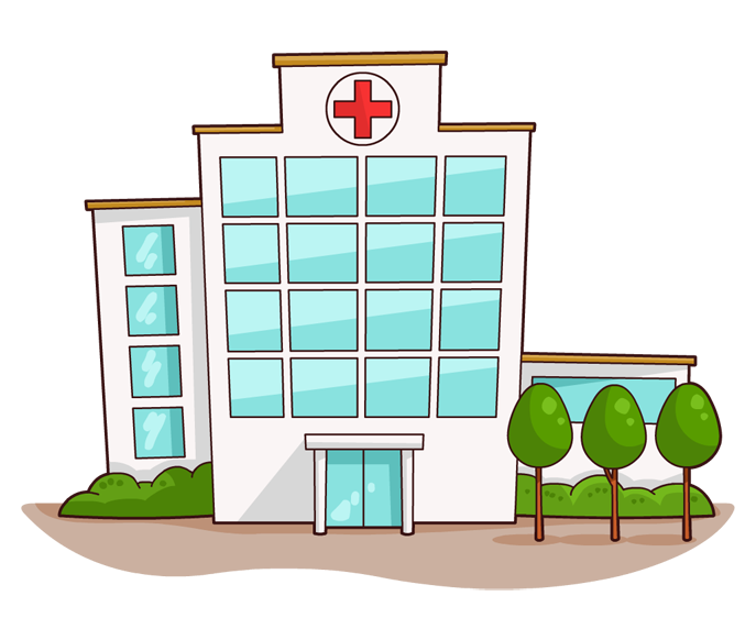 Hospital clipart free images 2