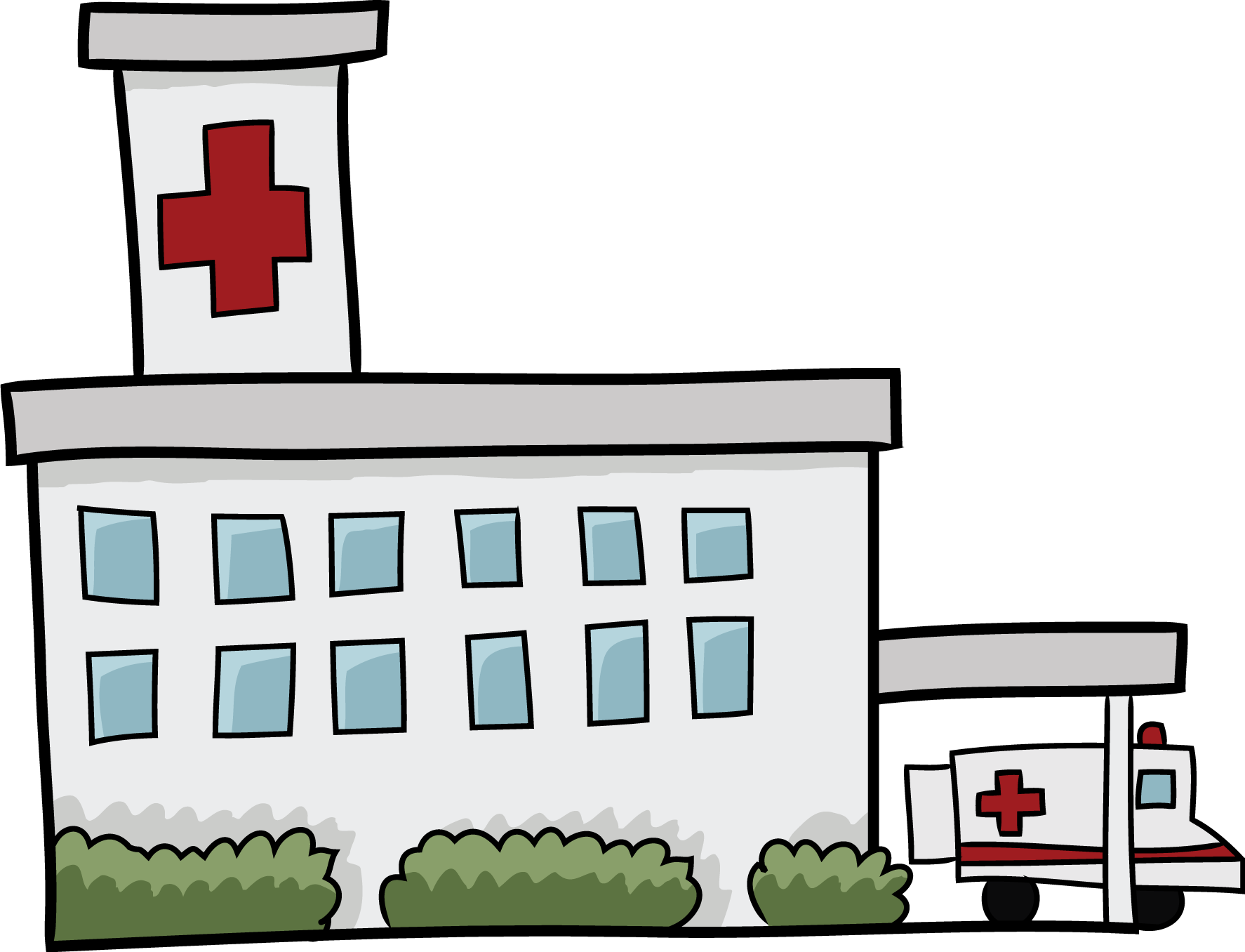 Hospital clipart free images 3