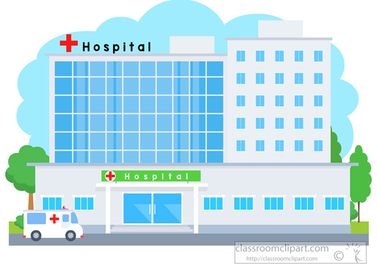 Hospital clipart free images 4