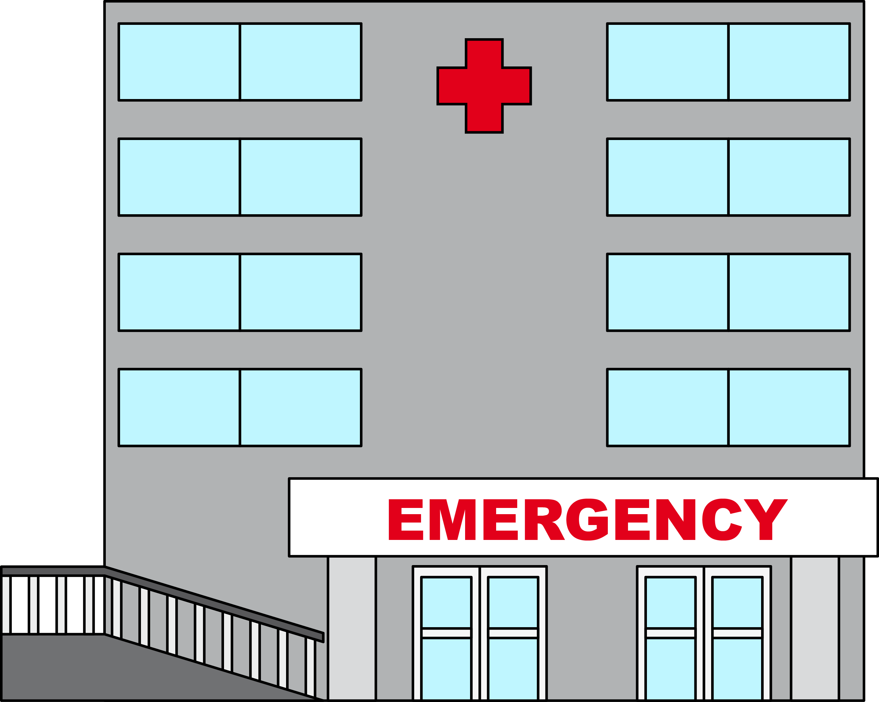 Hospital clipart free images 5