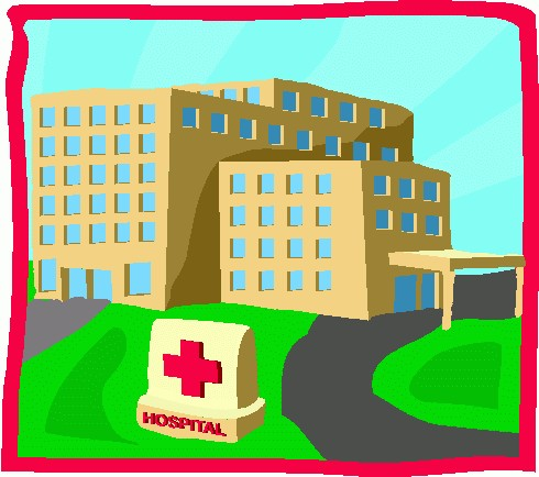Hospital clipart free images 7