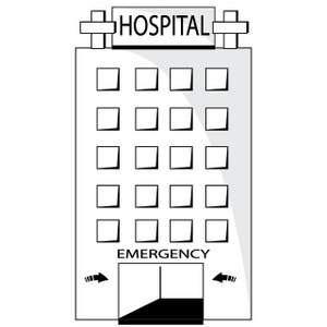 Hospital clipart image
