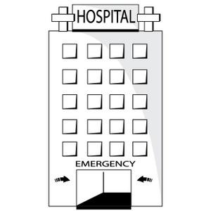 Hospital clipart image