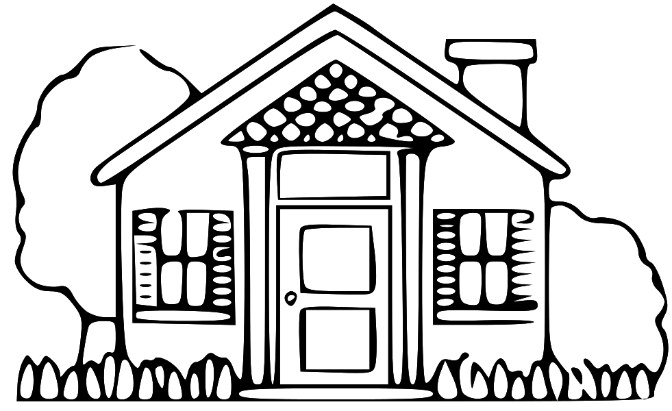 House free home clipart clip art pictures graphics illustrations 6