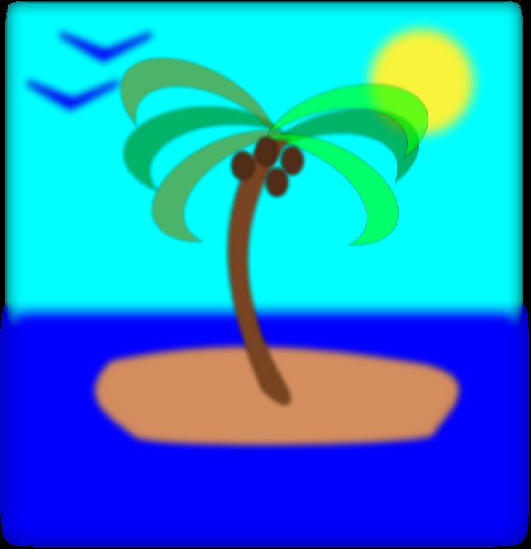Island clip art download