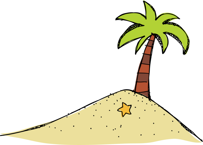 Island clipart 2