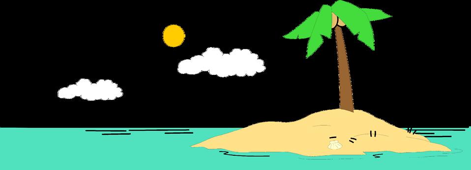 Island clipart 4
