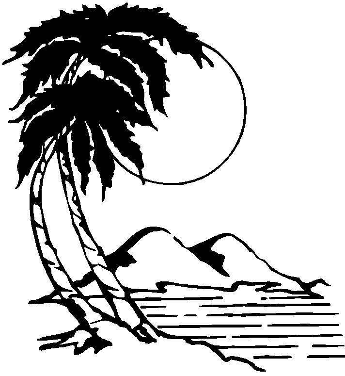 Island clipart 8