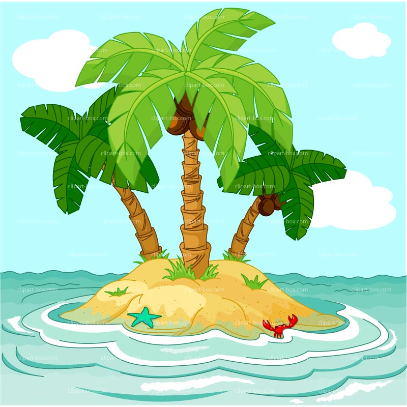Island free clipart 3