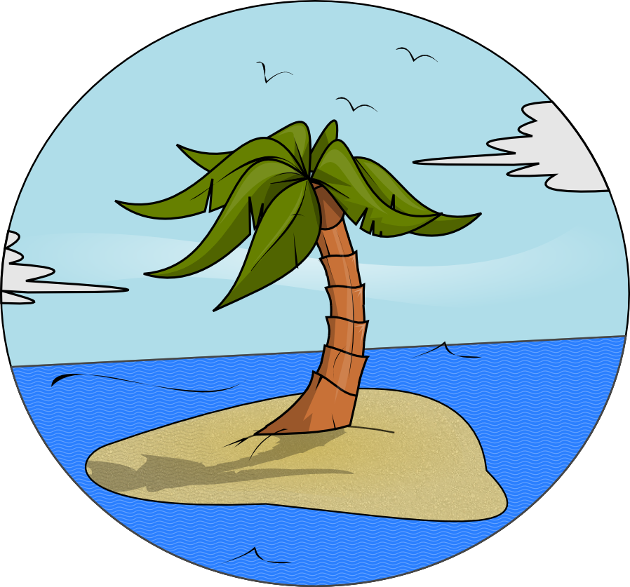 Island free clipart