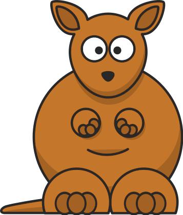 Kangaroo clip art download