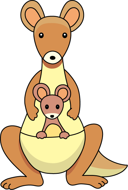 Kangaroo clipart 5