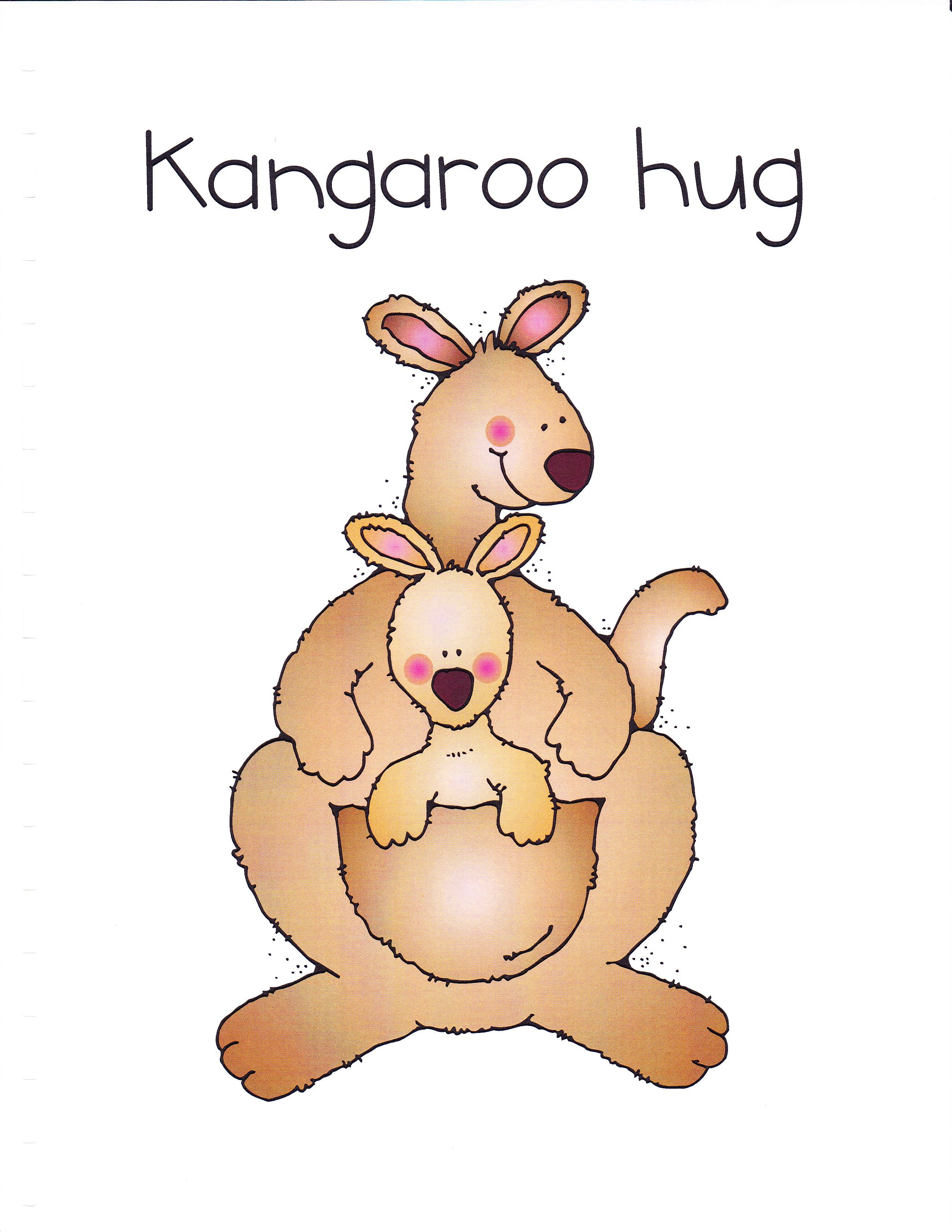 Kangaroo clipart 8