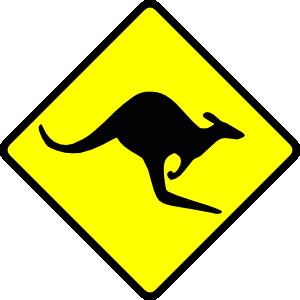Kangaroo clipart 9