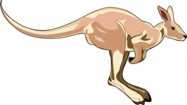 Kangaroo clipart kangaroo image 2 2