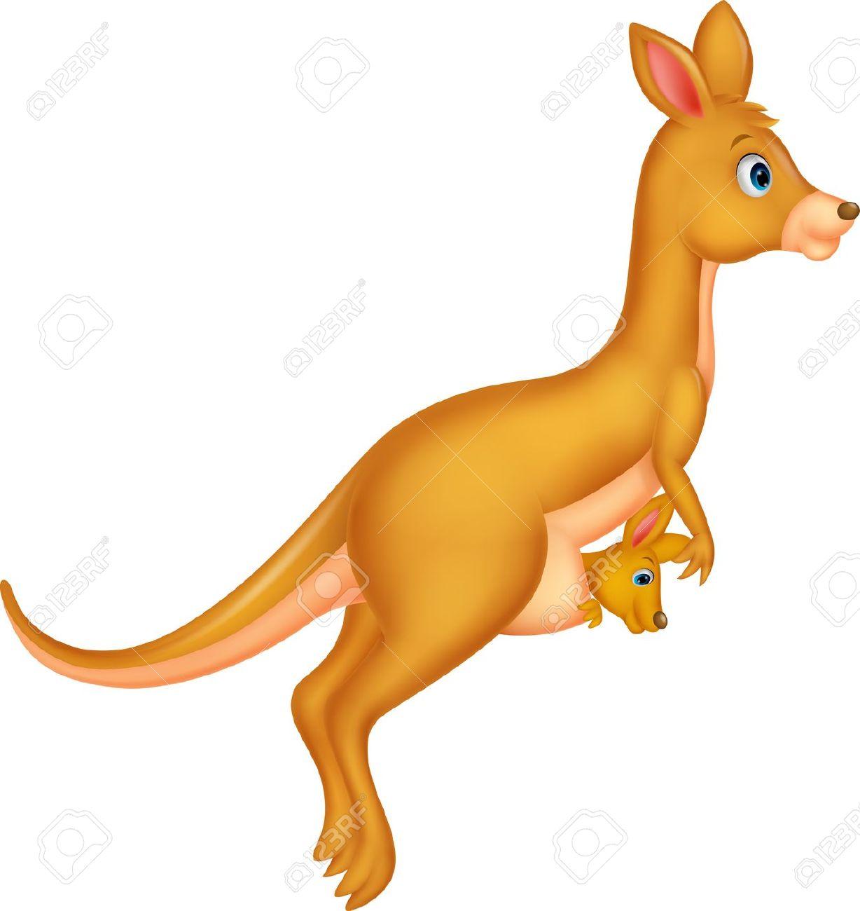 Kangaroo cliparts