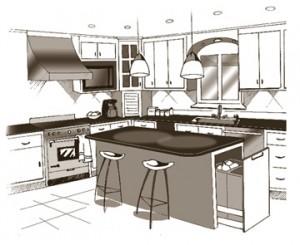Kitchen clip art free clipart images 3
