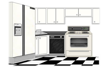 Kitchen clipart free images 4