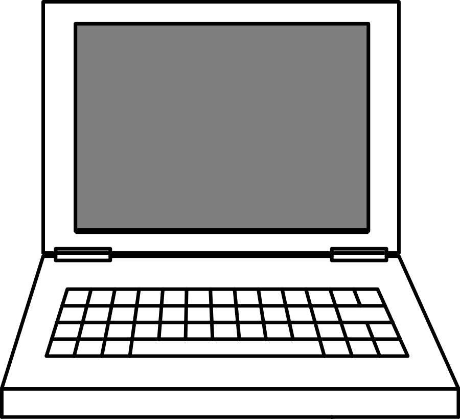 Laptop clipart pictures free images 2