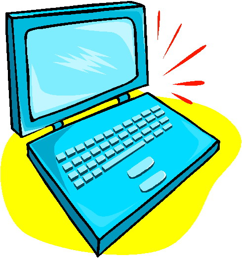 Laptop clipart pictures free images 4