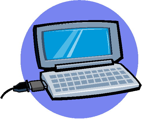 Laptops clip art 3
