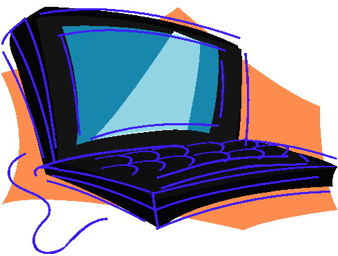 Laptops clip art 4