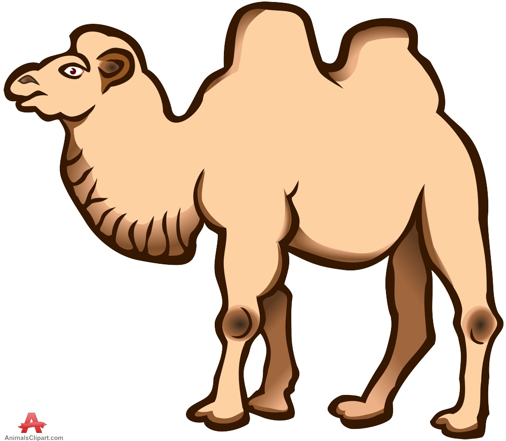 Large camel clipart free design download