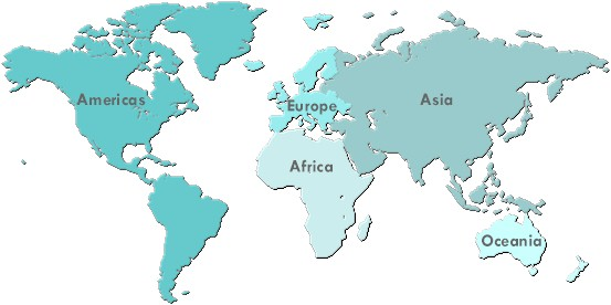 Map of the world clipart narytk