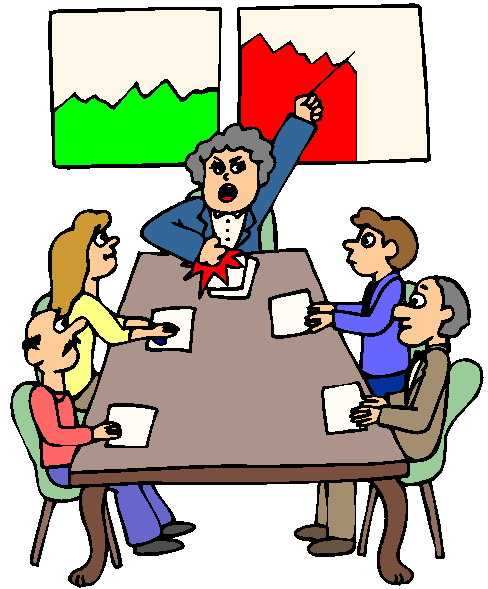 Meeting clip art black white free clipart images