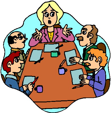 Meeting clipart free images 6