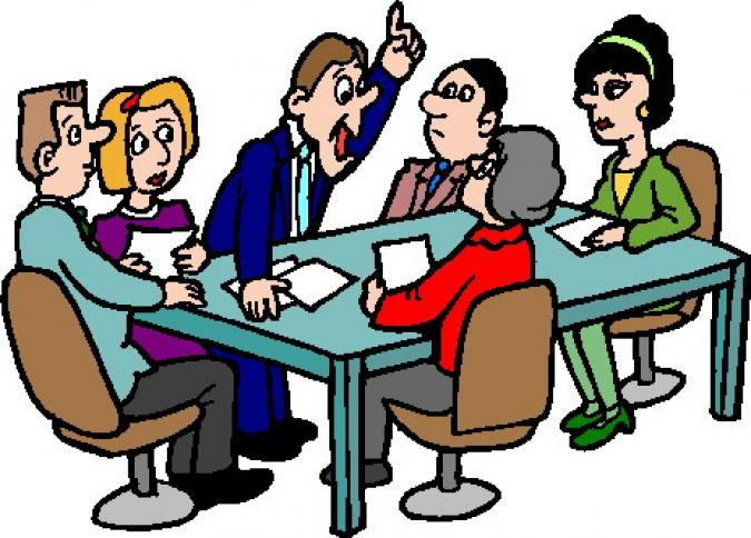 Meeting clipart free images 8