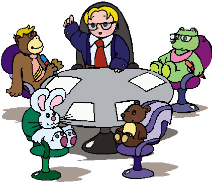Meeting clipart free images 9
