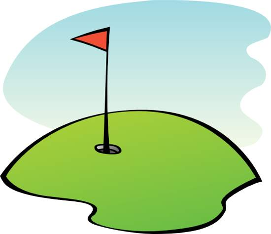 Mini golf clip art free clipart images