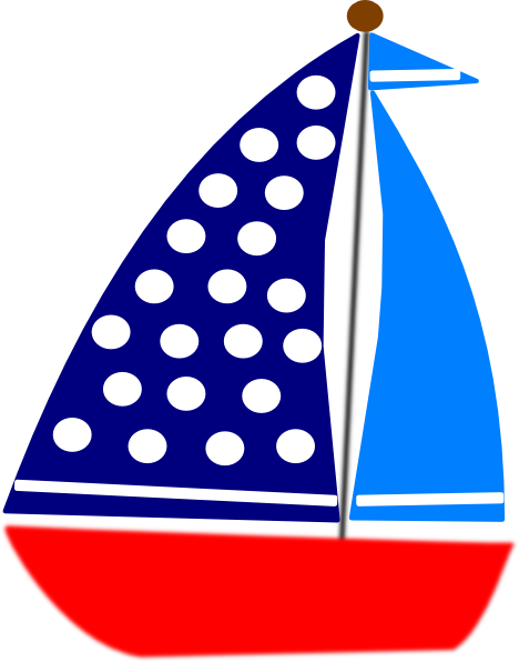 Navy blue sailboat clipart free images