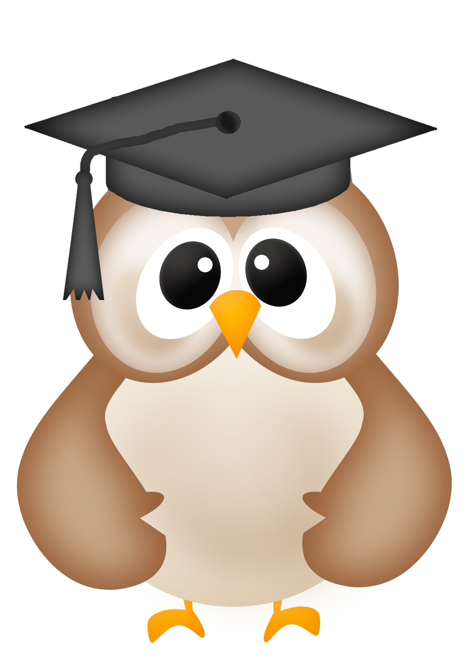 Owl graduation clipart free images