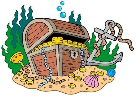 Pirate treasure chest clipart clipartfest 2