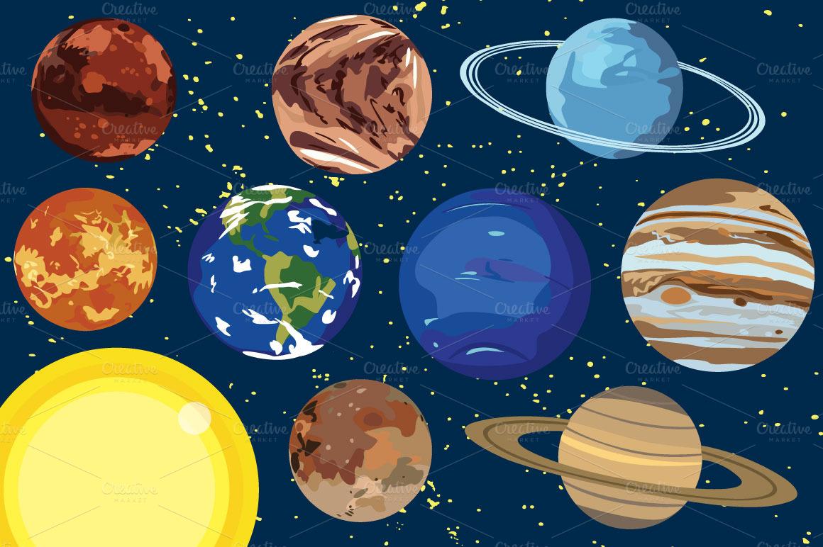 Planets clip art tumundografico 5