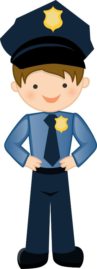 Police clip art for kids free clipart images 3
