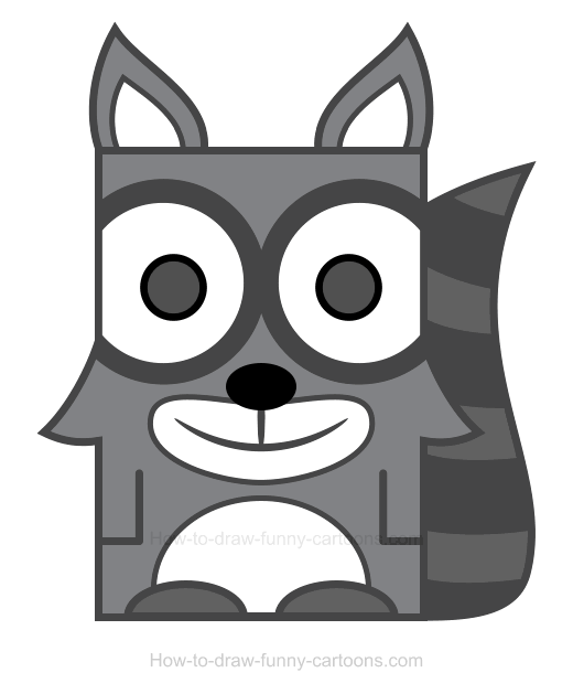 Raccoon clipart 2